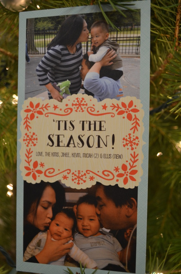 Our Christmas card in 2012.  A tradition I will allow us to take pause in here and there, if it becomes just one more thing we SHOULD do.